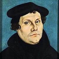 Bild des Reformators Martin Luther